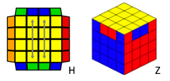 cube puzzle parity half hz case