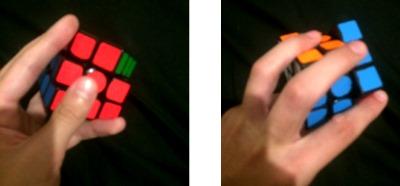 one handed finger tricks