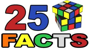 25 rubiks cube facts