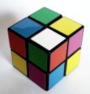 2x2x2 scrambled 2x2x2 Rubiks Cube