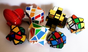 3x3x3 Rubik's Cube shape mods