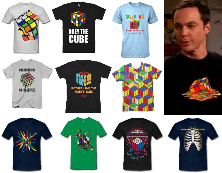 rubiks t-shirts