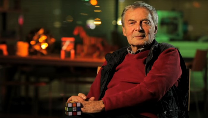 Rubik Erno The Inventor Of The Magic Cube