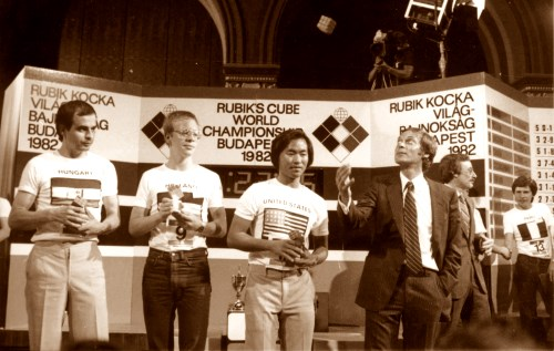 first cube competition budapest 1982