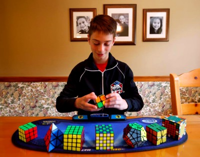 lucas etter 490 rubiks cube single world record clarksville maryland cubecomps keaton ellis