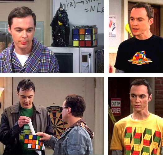 big bang theory sheldon rubiks