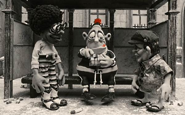mary and max bus stop