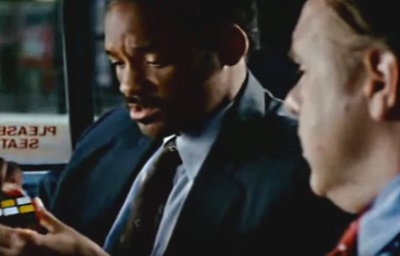 pursuit of happyness will smith cube scene