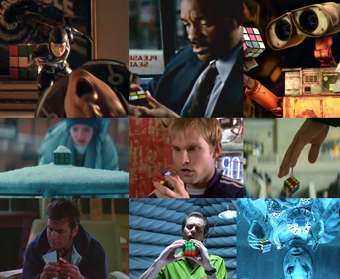 rubiks cube in movies