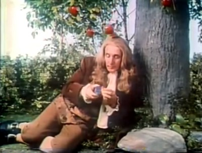 first rubiks ad commercial newton