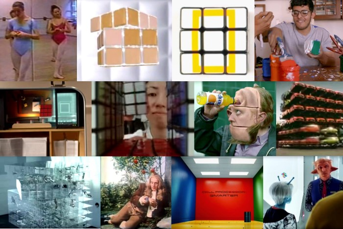 rubiks cube tv advertising commercials