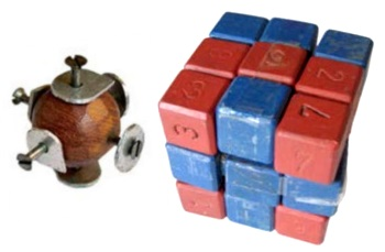 The First Rubiks Cube Prototype