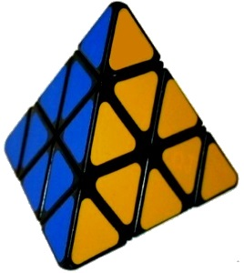 pyraminx puzzle triangle
