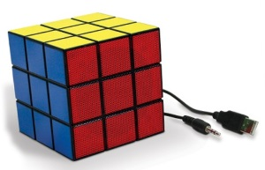 rubiks electric speaker
