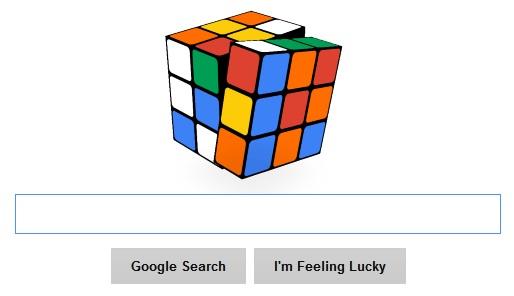 google doodle cubo