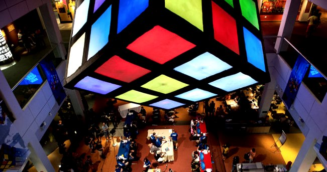 the biggest Rubiks Cube