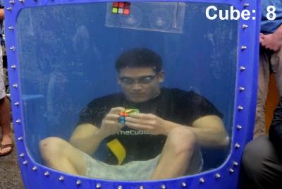 underwater cubing