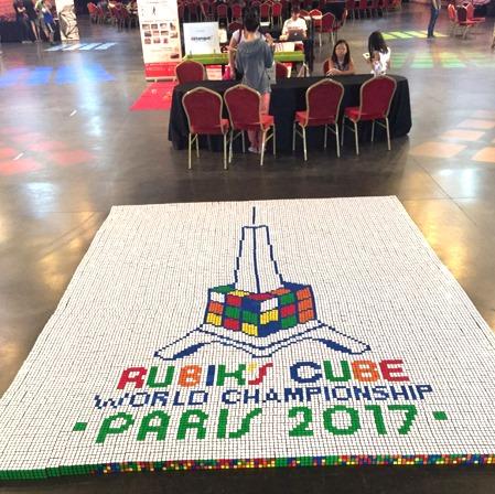 rubiks cube mosaic 2017