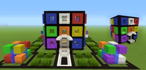 minecraft rubik house twitter tsmc360