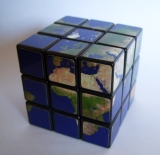 earth cube 3x3x3 Rubiks Variations