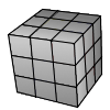 Blank cube