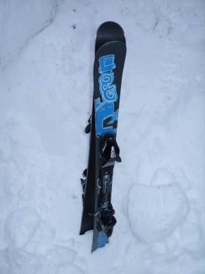 Gaspo GPO Snowblades Skiboards 125cm