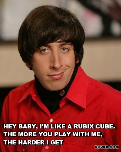 Howard and the Rubik's Cube