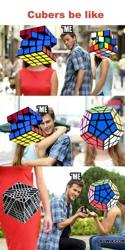 cube head girls