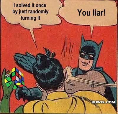 liar batman slapping robin