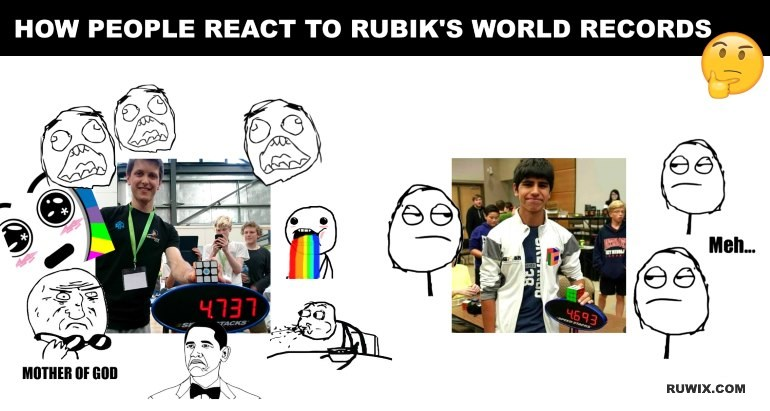 people react world records