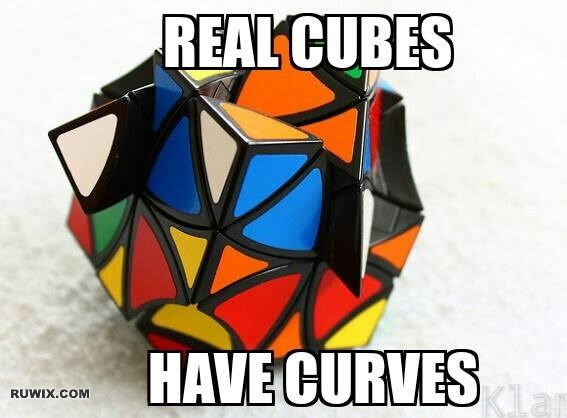 real cube curves