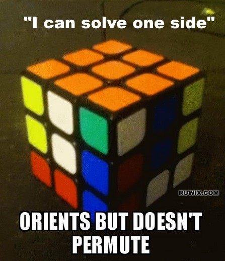 solve one side rubiks
