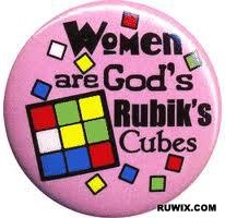 women are God's Rubik's Cubes