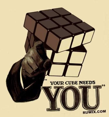 Your cube needs you
