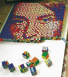 mosaic Rubiks Art