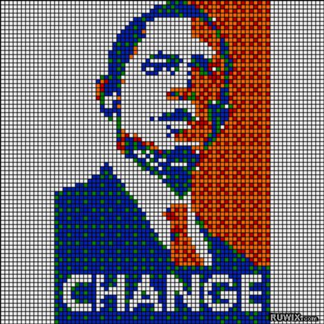 Rubikubism Rubiks Cube Pixel Art Mosaics