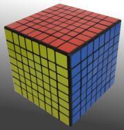 8x8x8 Rubik's Cube