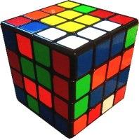 solved 4x4x4 edge