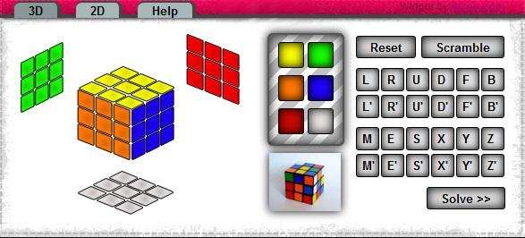 Rubik Cube Solver