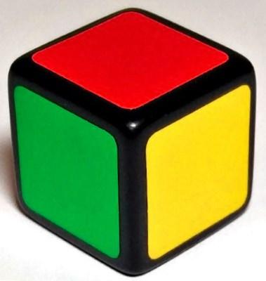 1x1x1 rubiks cube