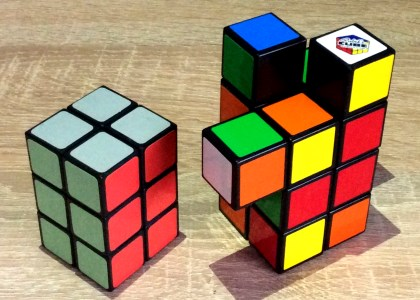 tower cubes 2x2xn