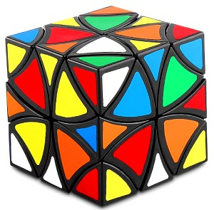 scambled curvy copter cube