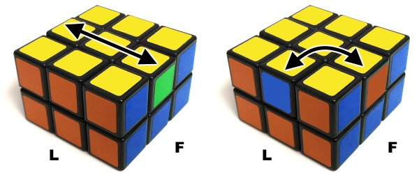 final step domino cube solution