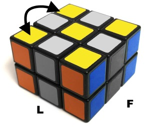 swap yellow domino cube corners