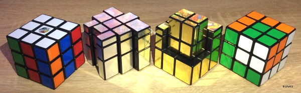 3x3 patterns on the mirror cube