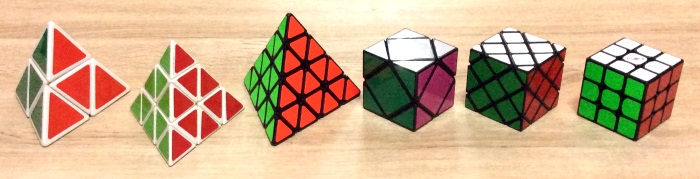 pyraminx 2x2 4x4 skewb family