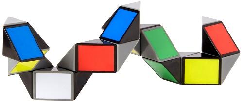 Rubik's Snake or Rubik's Twist folding puzzle solution
