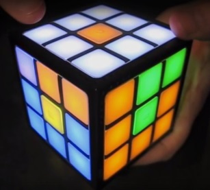 touch electric cube swipe