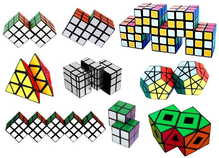 Siamese Twisty Puzzles - Rubik's Cube Modding