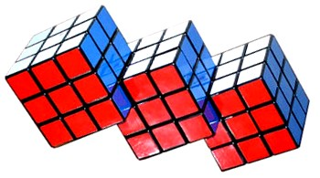 triamese rubiks cube puzzle